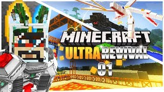 Minecraft: Ultra Modded Revival Ep. 1 - LOTS OF RIP