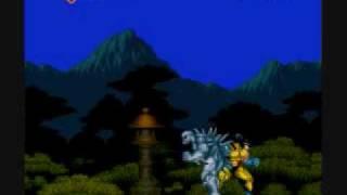 SNES Wolverine: Adamantium Rage (Wolverine vs Tri-Fusion)