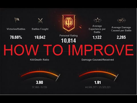 World of Tanks   5 Tips to become a better player & improve your winrate / wn8