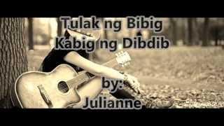 Tulak ng Bibig (Lyrics) -Julianne
