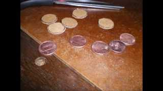 How to make a battery from pennies and vinegar