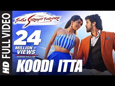 Xxx Mp4 Santhu Straight Forward Songs Koodi Itta Full Video Song Yash Radhika Pandit V Harikrishna 3gp Sex