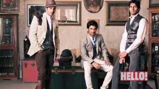 HELLO! Brat pack - Varun Dhawan, Sushant Rajput and Siddharth Malhotra