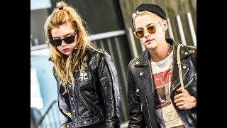 Kristen Stewart And Stella Maxwell in Paris