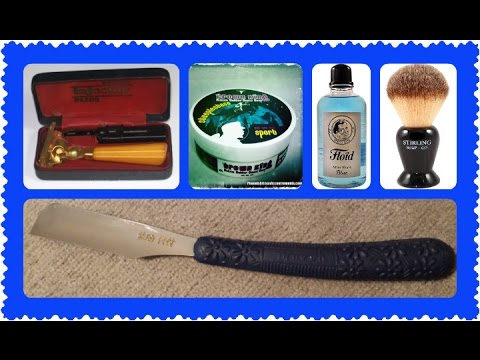 Kamisori Fail, Schick Injector, Crown King, Stirling Soap Co.,  Floid Blue,