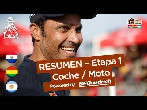 Resumen de la Etapa 1 Coche Moto Dakar 2017