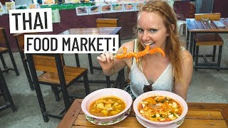 Thai Food! Delicious Tom Yum & Massaman Curry 🍽 + EPIC DRONE FLIGHT! (Phuket, Thailand)