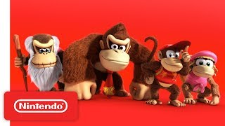 Donkey Kong Country: Tropical Freeze - Available Now on Nintendo Switch!