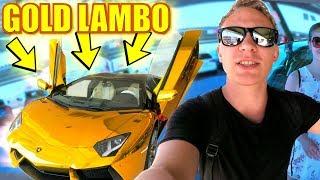 LAMBORGHINI AVENTADOR GOLD!! 30 MILLIONEN € AUTOS I Ein Traum wird wahr!
