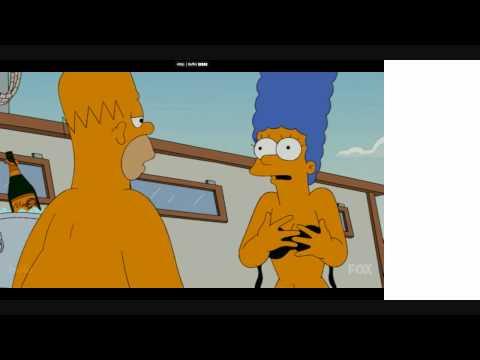 Marge Simpson HOT Pics! - Bikini Strip Scene!