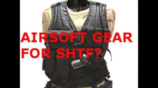 AIRSOFT TACTICAL VEST FOR WROL SHTF LOADOUT ECONOMIC COLLAPSE?