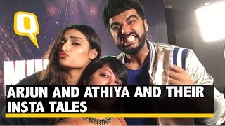The Quint Has Some Insta Fun With Arjun Kapoor & Athiya Shetty  - The Quint