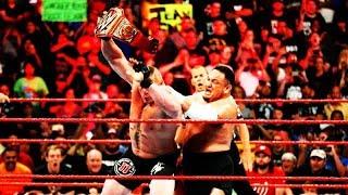 Brock Lesnar vs. Samoa Joe Great Balls of Fire 2017 Highlights HD