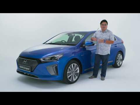 Hyundai Ioniq Hybrid Malaysian walk around video