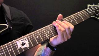 How To Play Heartwork On Guitar By Carcass