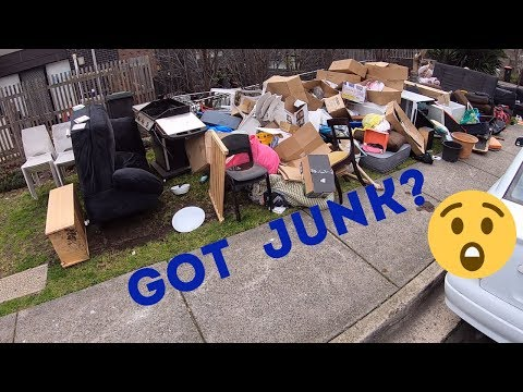 Street Scrapping quick run around for e waste