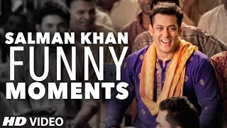 Salman Khan's Funny Moments (Unseen) #BackstageReel
