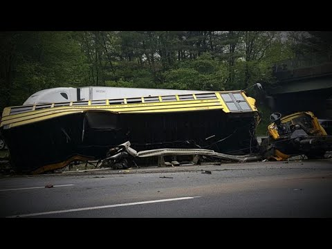 Xxx Mp4 School Bus Driver Made Illegal Turn Before Deadly Crash Officials Say 3gp Sex