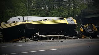 School bus driver made illegal turn before deadly crash, officials say