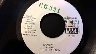 Buju Banton - Rampage - CB 321 Records 7