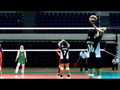 ASIAN School Girls Volleyball Championship - Singapore vs Iran