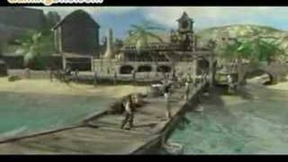Pirates of the Caribbean: At World's End Gameplay  (Xbox 360