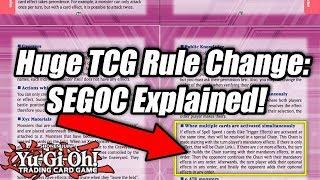 Yu-Gi-Oh! Huge TCG Rule Change: SEGOC Explained!