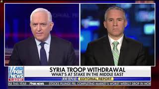 Jonathan Schanzer on US withdrawal from Syria with Fox News