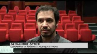 Alexandre Astier ITW 2010 - coffret Poésines