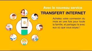 [Transfert Internet] : Comment ça marche pour les clients Recharges Orange ?