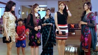 Attarintiki Daredi Comedy Scenes - Sunanda Restrictions To Her Daughters - Samantha, Nadhiya