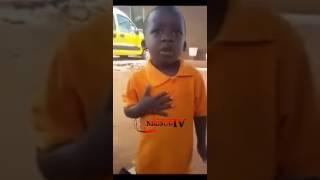 SHOCKING: 4yrs Boy Singing  Becca - Hw3 Ft Bisa Kdei 