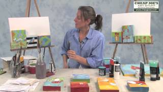Moni Hill Painting on Reclaimed Wood- Review