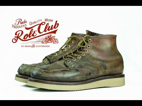 Red Wing Moc Toe 875 Resole 3