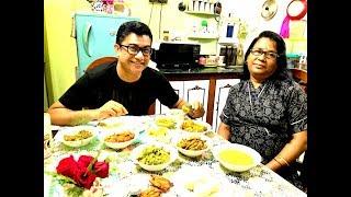 কোলকাতার বাড়িতে নেমন্তন্ন - FABULOUS INVITATION IN A KOLKATA HOUSE - Home Made Bengali Food Feast
