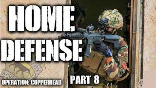 American Milsim Operation: Copperhead Part 8: Home Defense (Krytac CRB)