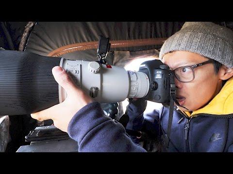 Canon 600mm f4L II Hands-on + NAT GEO Wild!
