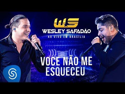 Wesley Safadão Part. Jorge Você não me esqueceu DVD Ao vivo em Brasília Já nas lojas