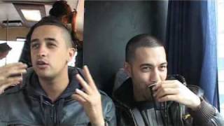 Making Of Gangsterboys : Yes-R en Turk praten met English words