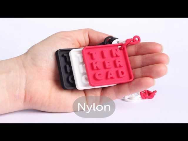Tinkercad - 3D print materials