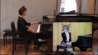【映像付コンサート】トムとジェリー「ピアノ・コンサート」 Tom and Jerry