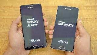 Samsung Galaxy J7 Prime vs A7 (2016) - Speed Test! (4K)