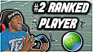 PLAYING THE #2 RANKED PLAYER IN THE WORLD 🌏 God Squad #36 - Madden 18 Ultimate Team Gameplay