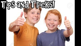 BACK TO SCHOOL! (Tips and Tricks)