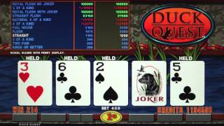 IGT | LAL Duck Quest Poker | Game Play