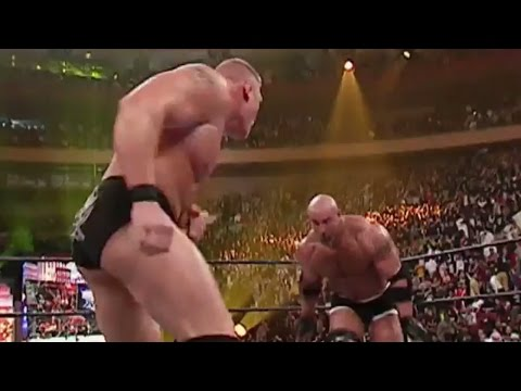 Xxx Mp4 Goldberg Vs Brock Lesnar WrestleMania XX 3gp Sex