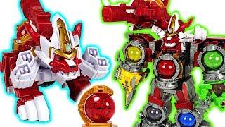 Power Rangers Uchuu Sentai Kyuranger Kojishi Voyager combine! DX Super Kyurenoh! - DuDuPopTOY