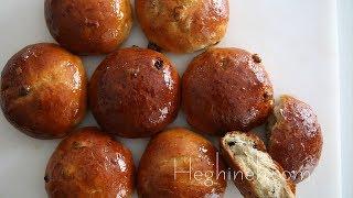 Չամիչով Կարկանդակ - Raisin Buns Recipe - Heghineh Cooking Show