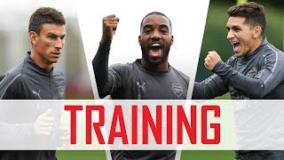 Drills, nutmegs and a Welbeck madness | Behind the scenes