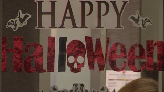 Spooky decor draws unlikely reaction at government office